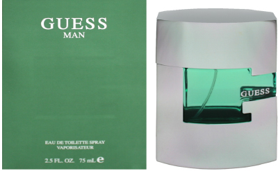 Guess Man by Parlux Edt 75ml (Box+Seal)